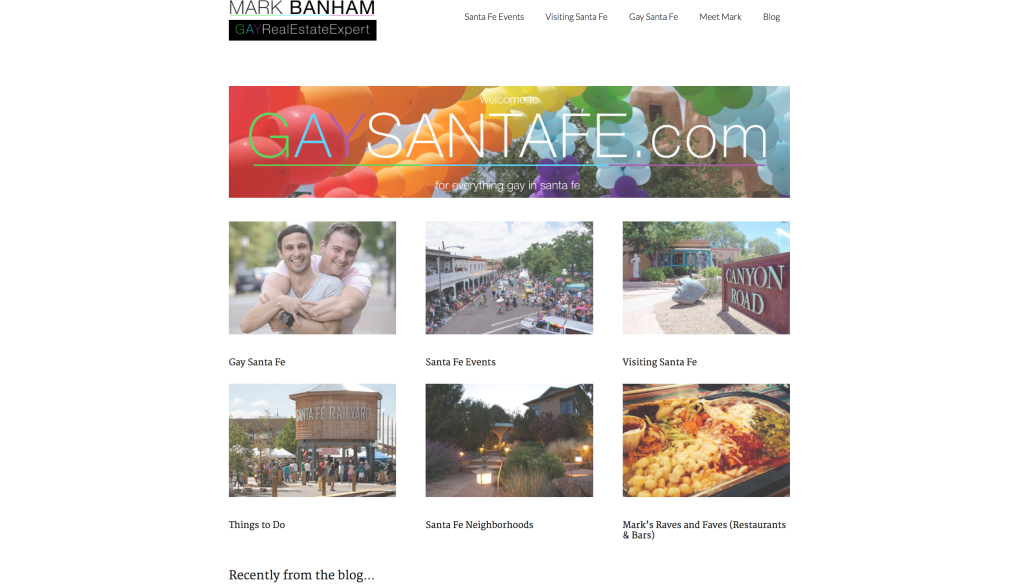 GaySantaFe.com for Mark Banham of Barker Realty | Christie's International Real Estate